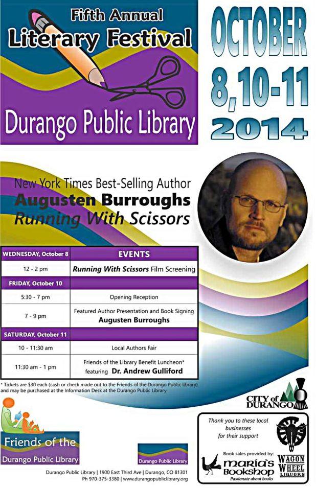 Durango Public Library's 5th Annual LIterary Festival