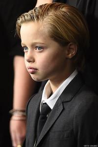John Jolie-Pitt at the premiere of 'Unbroken'
